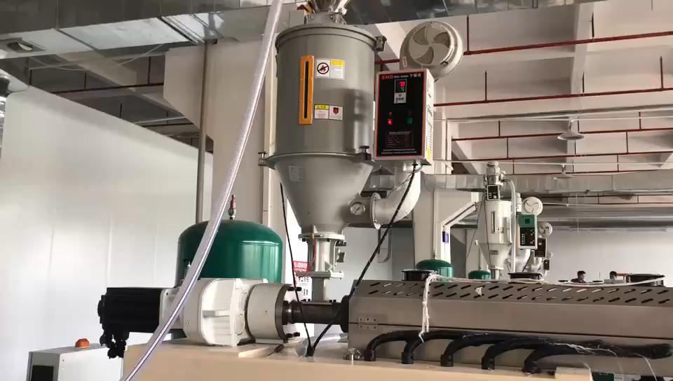 फैक्टरी मूल्य पिघल उड़ा मशीन कपड़ा ड्रम उत्पादन लाइन कपड़ा Extruder