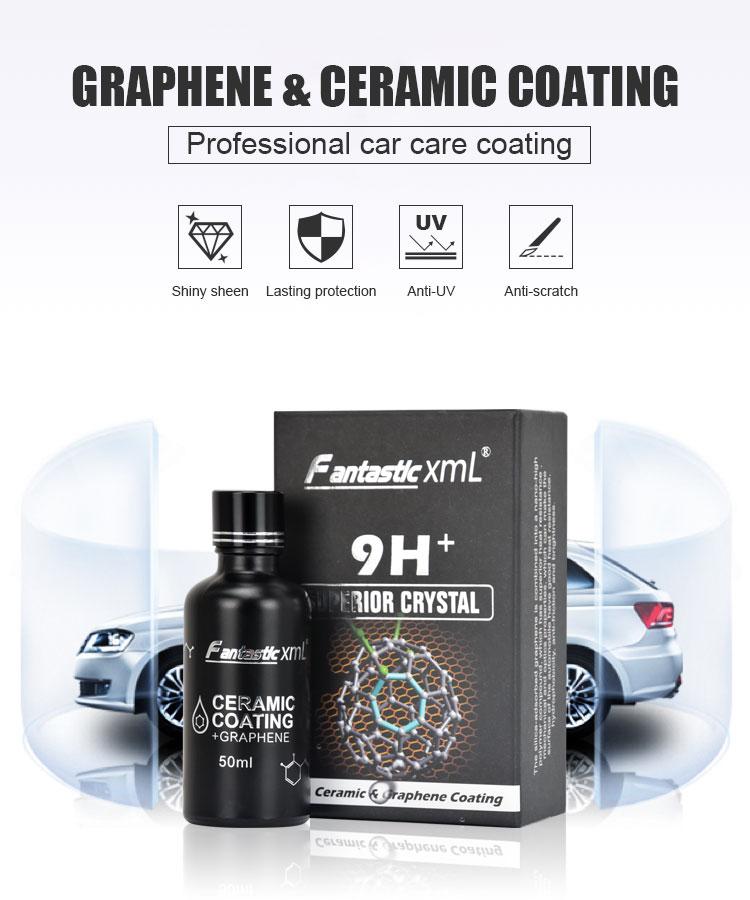 2020 Newest Nano Car Polishing Compound Heat Resistance Fantastic XML Liquid Graphene Coating