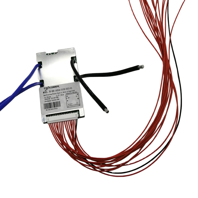 Умная литиевая батарея lifepo4 bms 48v 16s 80a bms литиевая батарея