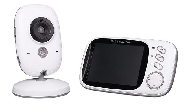 Беспроводной двухстороннее аудио 5 дюймов ЖК-видео монитор младенца камера