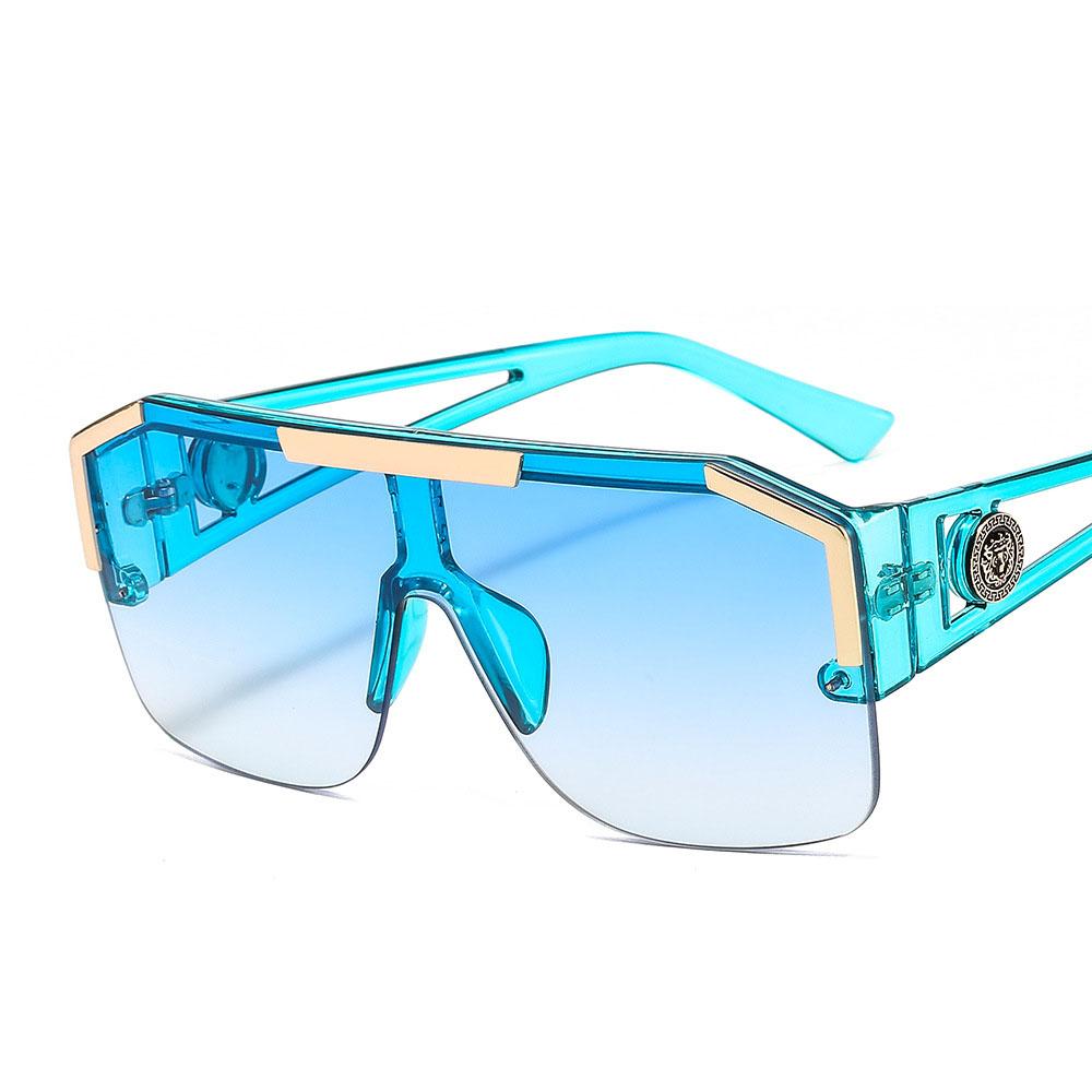 brand luxury fashion glasses sun glasses custom logo women newest trendy oversized mens sunglasses shades 2021