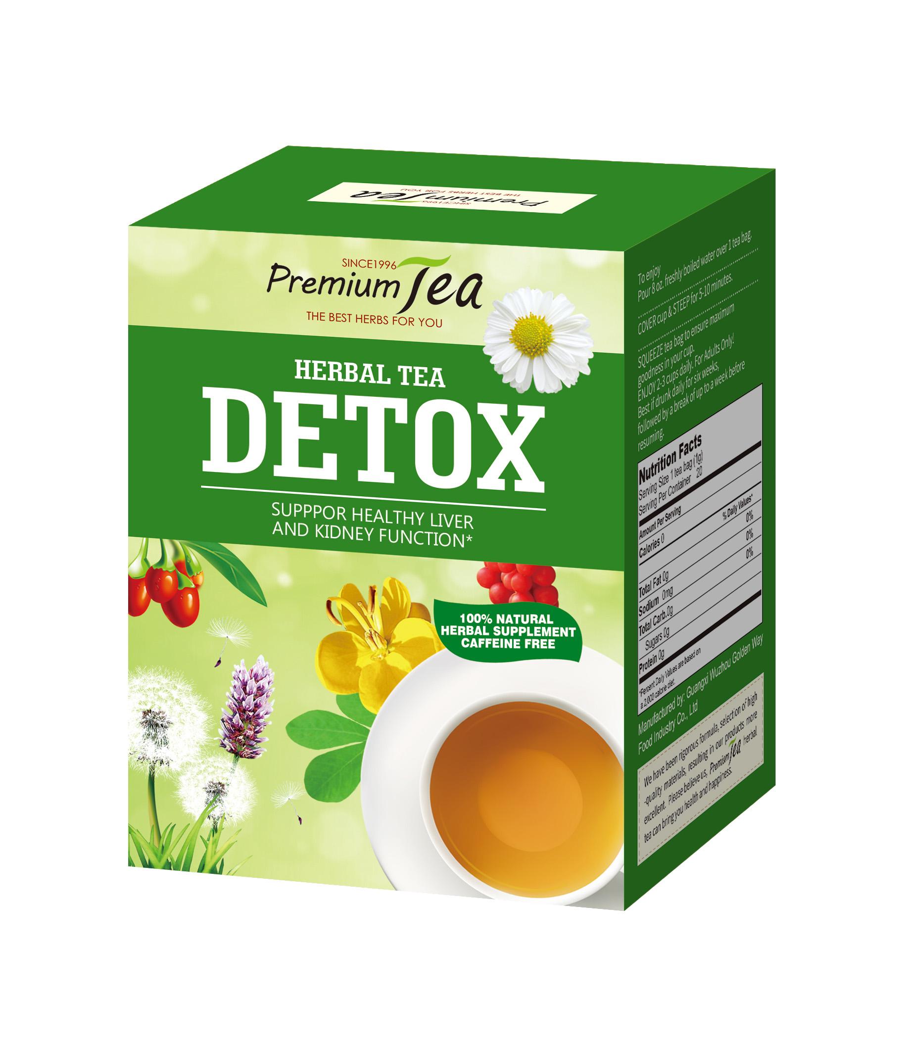 Healthy Liver and Kideny Detox Tea - 4uTea   4uTea.com