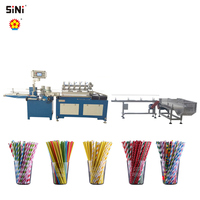 High speed multi Cutters Paper Drinking Straw Making Machine Straw Making Machine Drinking Straw Making Machine