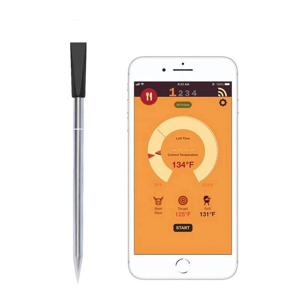 Smart Draadloze Vlees Thermometer Voor Koken