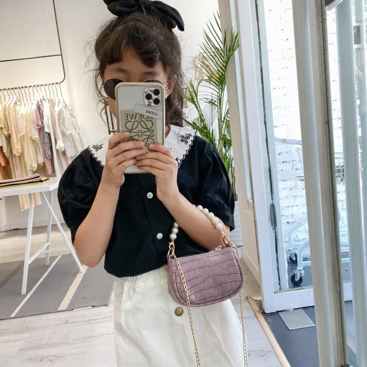बच्चों प्यारा बच्चा पर्स और हैंडबैग छोटी लड़कियों कंधे बच्चों हैंडबैग मिनी