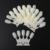 Wholesale ABS plastic nail art display stand tips salon nail extension false tips set oval practice nail trainer tips