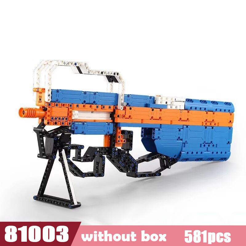 Новый Сват Эмиссионный пистолет электропистолет Technic Arms модель Собранный DIY Legoes кирпич набор оружие мальчик игрушка строительный блок(Китай)