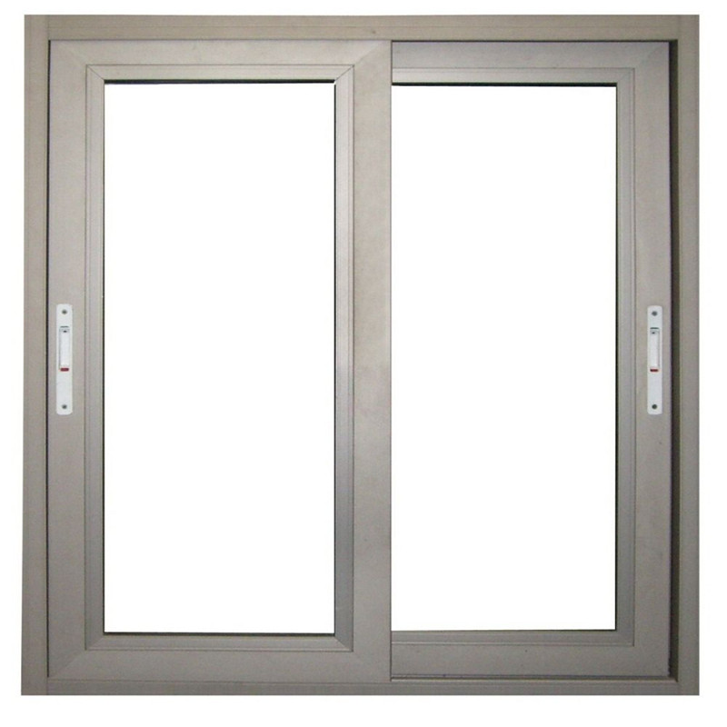 5+9A+5mm Aluminum Frame Double Tempered Glass Horizontal Sliding Window