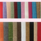 Nature Linen 100% polyester cheap price fabric used for notebook cover diary book note book