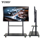 Led Tv Led 75 Inch Ultra HD 4K Portable Wireless LED Interactive Touch Screen Monitor LCD Smart Board TV With PC All In 1