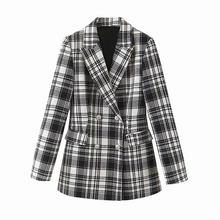 Женский пиджак с длинным рукавом Nlzgmsj za, коричневый деловой пиджак для работы, Осень-зима 2020(Китай)