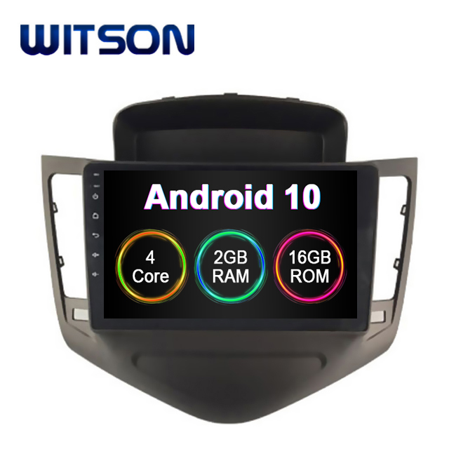 WITSON Android 9.0 car dvd player universal Para Chevrolet CRUZE 2008-2011 Construído Em 16 2GB RAM GB FLASH do dispositivo de rastreamento gps