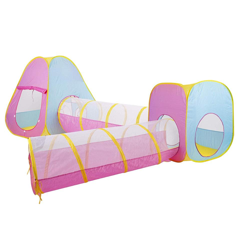 Kids Play Tent Kid Tunnel Portable