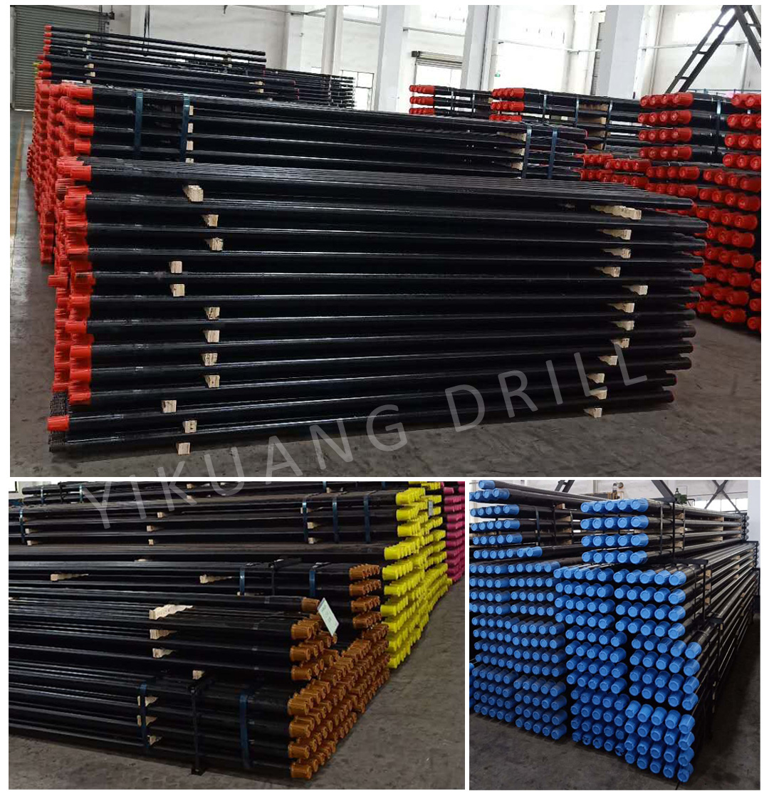 Best price 73mm S135 forged HDD drill pipe for horizontal directional drilling project with good quality