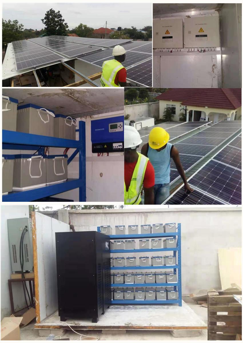 30KW Off-Grid Sistema di Energia solare/Home Kit Pannello Solare 5KW 10KW 20KW 30KW solare off sistema di rete per Casa