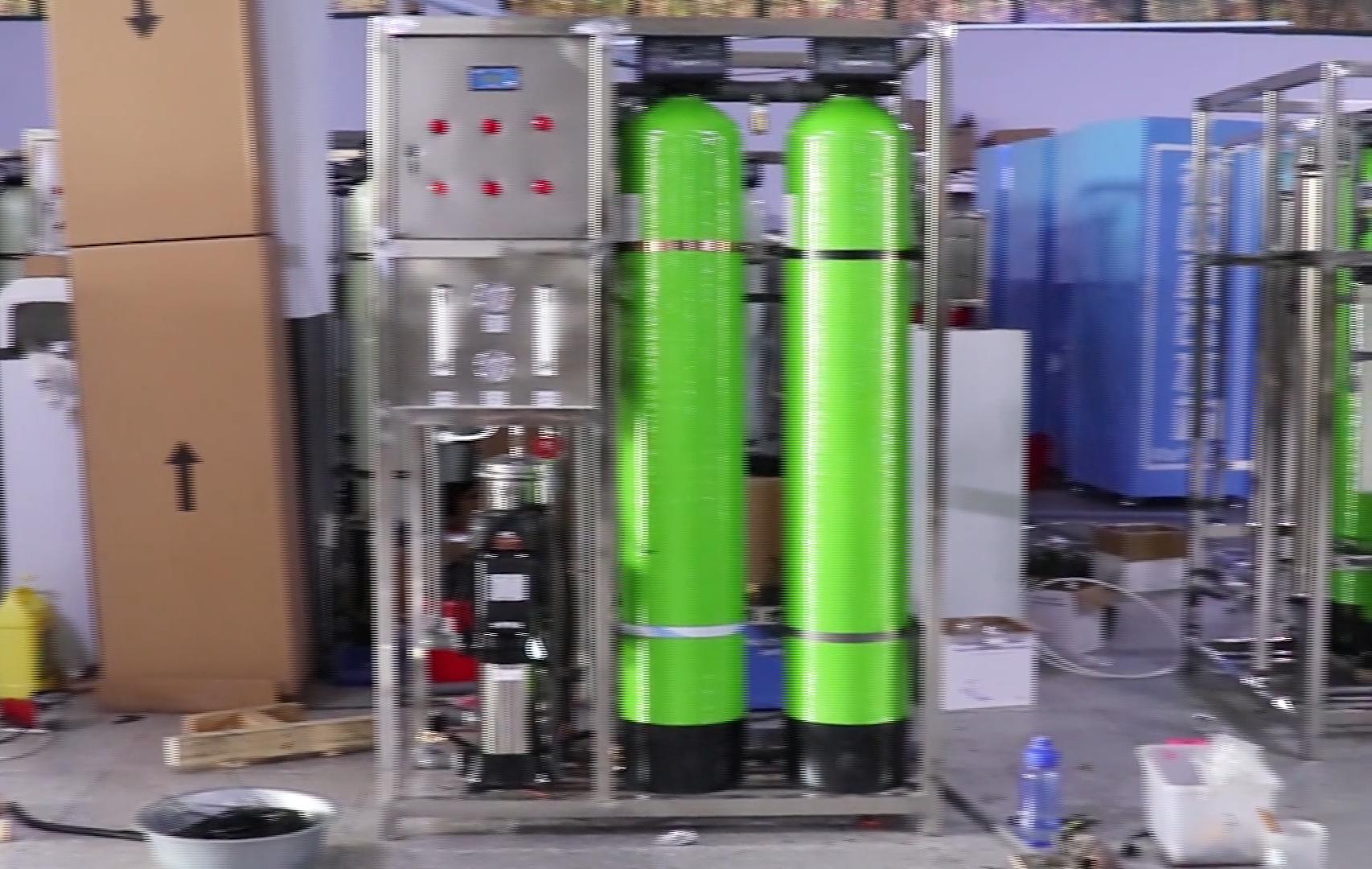 Osmosi inversa acqua potabile macchina di purificazione/industriale depuratore di acqua del sistema