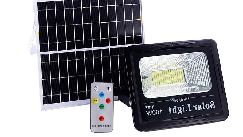 YANGFA IP65 Waterproof Outdoor 20W 30W 40W 50W 60W 100W Solar Led Flood Light
