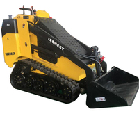 china leeheey made mini cheap skid steer loader with attachments