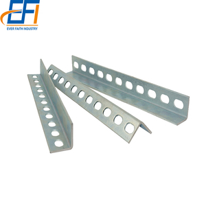 Zinc Galvanized Steel New Fashion slotted steel angle bar price