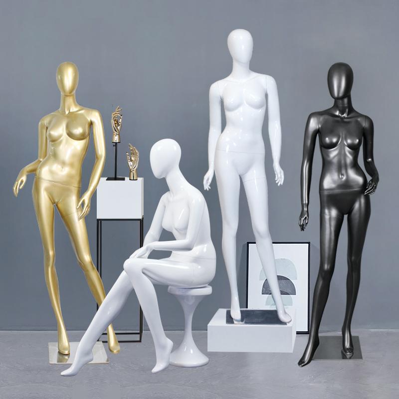 Bridal Store Interior Design Shinny Gold Clothes Display Wedding Dress Display Rack Stand Bridal Gown Display Showcase