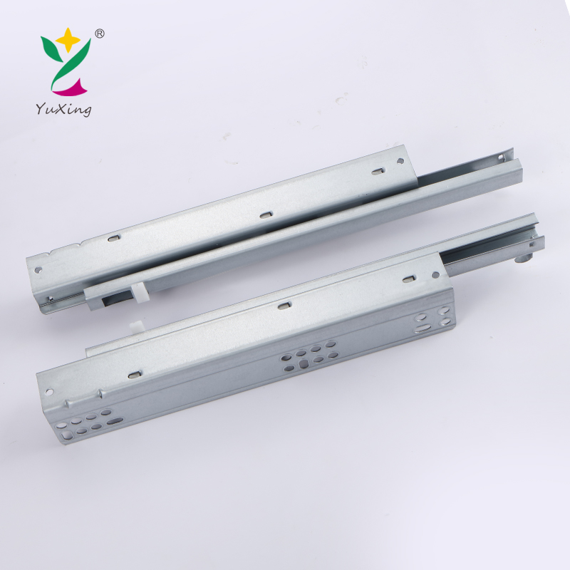 Full Extension Telescopic Slide Soft Close Concealed Drawer Slide