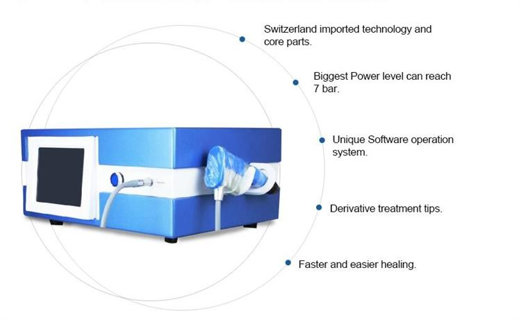2019 Newest Shock Wave Therapy Equipment With Physical and ED