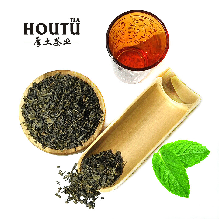 China Green Tea the vert de chine box bag packing Chunmee 9366 Loose Tea Style Product - 4uTea | 4uTea.com