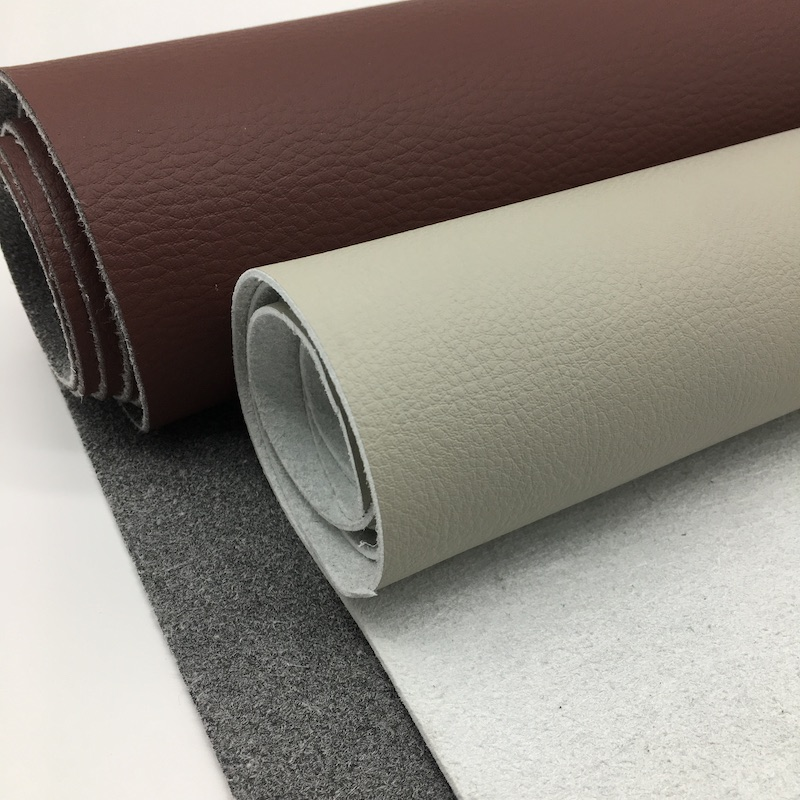 China Supply Elastic Eco-Friendly pu microfiber leather for shoes