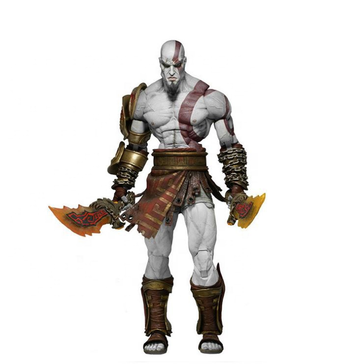 Resin mini action figure kratos custom figure from video game