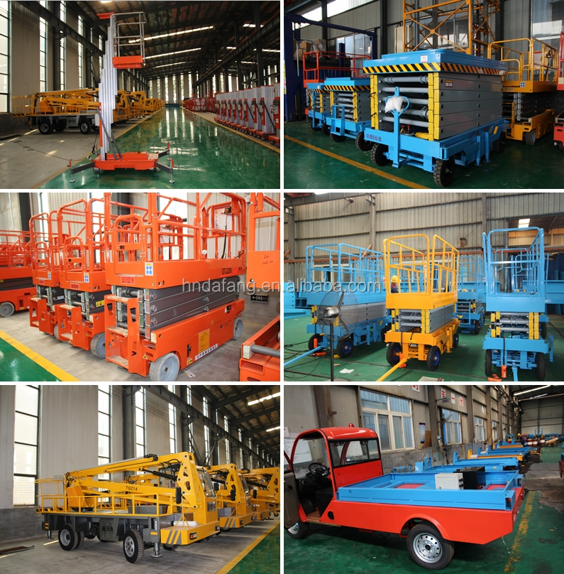 6M Scissor Lift For Sale Elevating Work Platform Aerial Work Platform