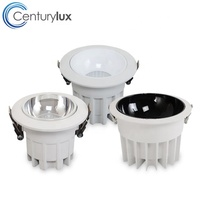 New arrival anti-glare 60degree led downlight square led cob downlight for chain store