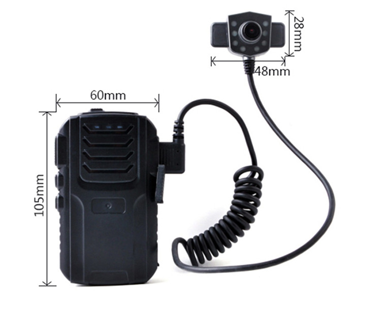 Full HD 1080P Wireless GPS 4G Body Cam Live Streaming Police Law Enforcement Body Worn Camera
