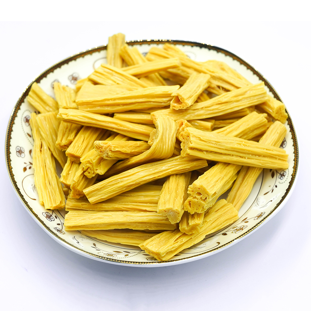 Wholesale Prices Fuzhu Hand Made Dried Bean Curd Stick Soybean Fuzhu Sticks
