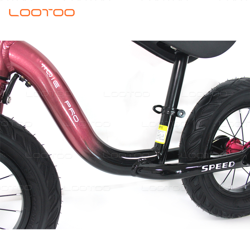 sepeda anak bicicleta de equilibrio aluminum alloy frame baby children self push run wheel bicycle first kids balance bikes