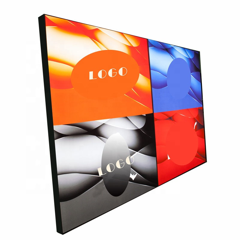 exhibition trade show signage shop decoration backlit LED display aluminum frameless SEG fabric advertising  light box