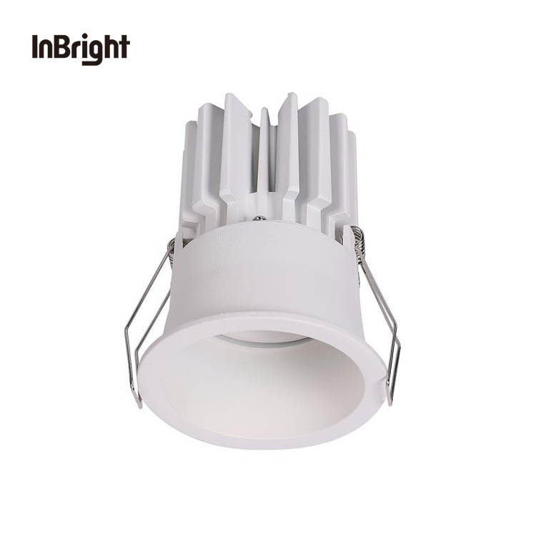 10w 12w 15w moderne anti glare indoor shop small mini led light spot narrow beam black ceiling cob recessed spot light led