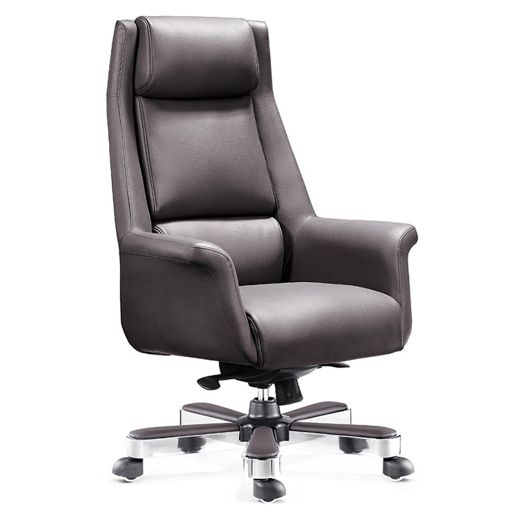 Hangjian new style training chair,High Back staff chair PU Leather executive office chair