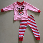 2019 new fashion baby Christmas outfit kids clothing sets