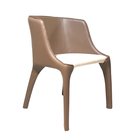 Modern Customized Making Thick Saddle Leather Chair