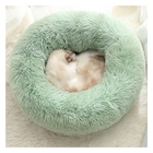Winter warming deep sleep and sweet night pet bed soft dog and cat bed