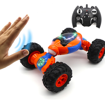 New Arrivals Chinese Element RC Toys 2.4GHz 8CH 4x4 Twist Rock Climbing Car Radio Control Double Side Stunt Car