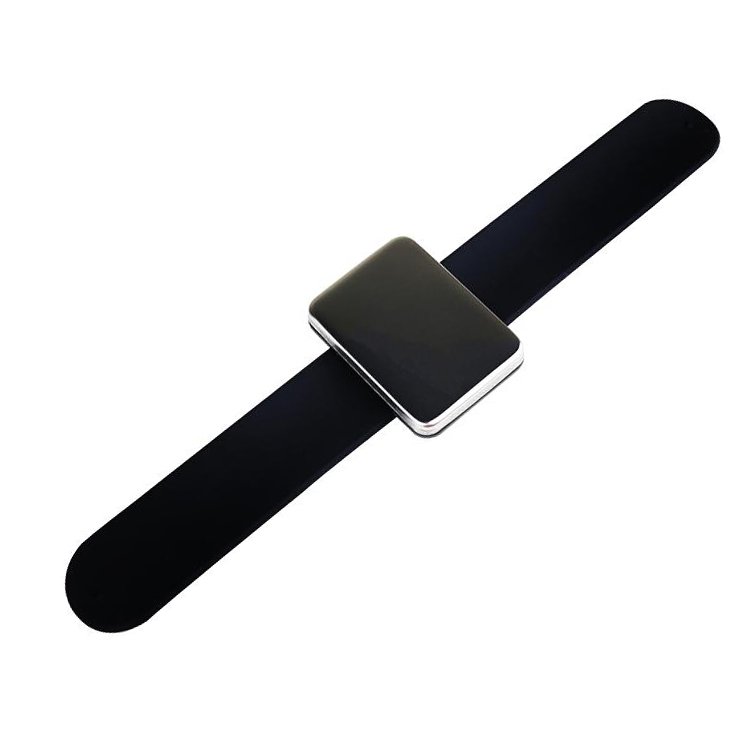 wristband magnet clapper ring make up watch band hairpin sucker hairpin steel clip magnet wristband For Salon use