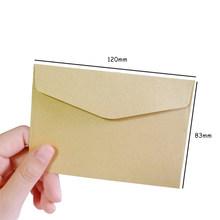 10 шт./лот, мини-конверты 115 мм * 80 мм, яркие цвета, мини-конверты, четырнадцать вариантов, бумажные корейские канцелярские принадлежности, пода...(Китай)