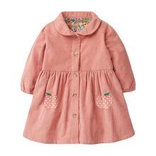 Little maven/платье для девочек с однобортным рождественским платьем для маленьких девочек 2020, вельветовое свадебное платье для девочек с рисунк...(China)