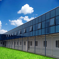 高速建設プレハブコンテナホーム携帯リビング事前 Fab 組み立てモジュラーモジュール容器プレハブコンテナハウス