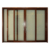 Top window factory aluminum triple 3 tracks channel interior sliding window