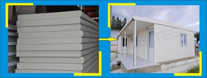 30mm PU exterior wall Decorative sandwich Panel supplier