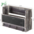 Wholesale Wall-Mounted Torched Wood  Mail Organizer With 4 Key Hooks & Chalkboard