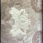 CF0674A Luxury embroidered 20%viscose 80%polyester embroidery lace curtain fabric