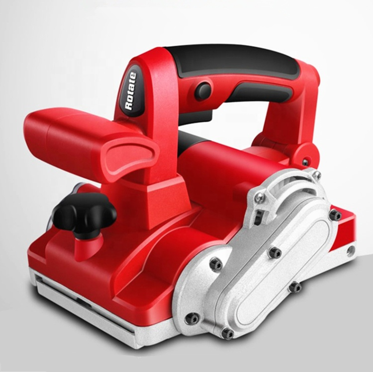 Electric one-hand portable small volume planer wall planing machine